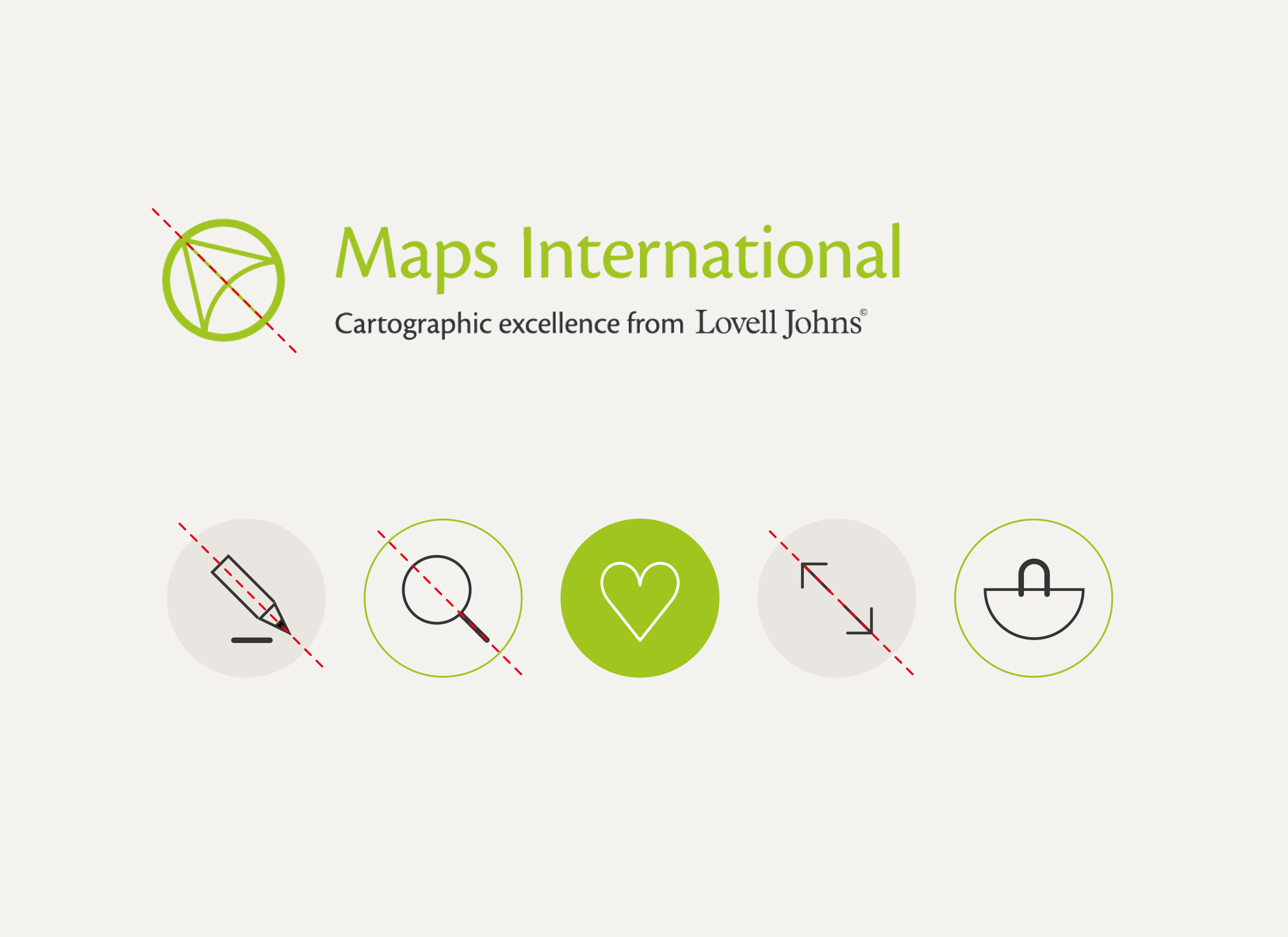 Maps International Icons