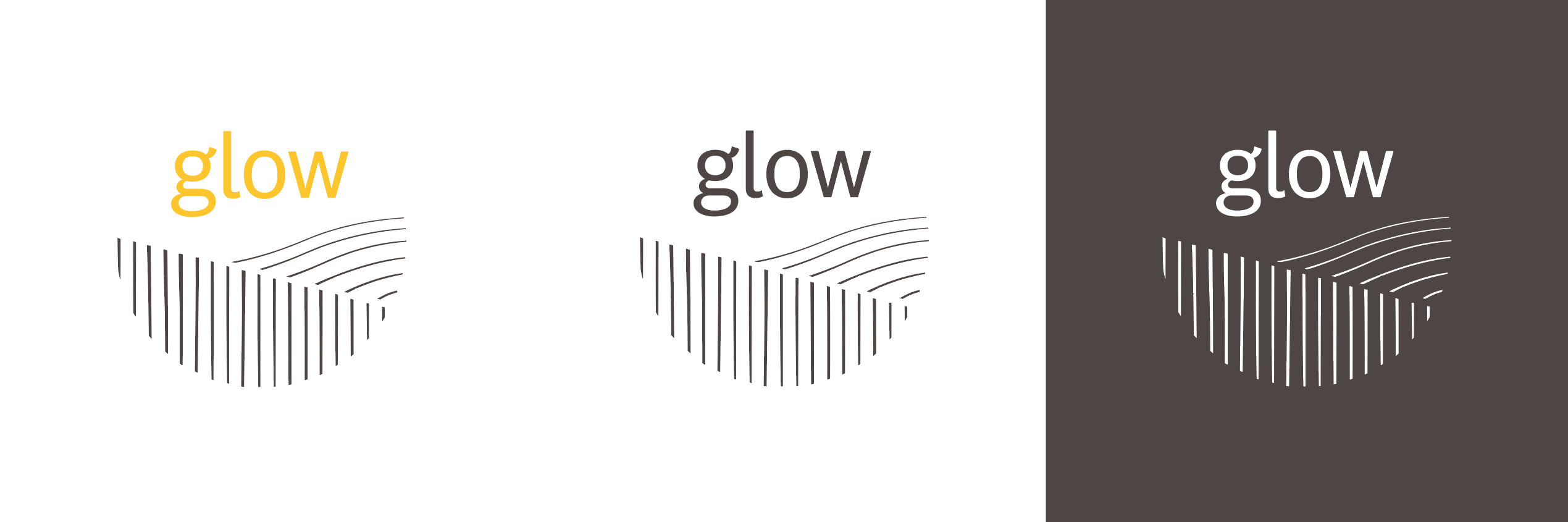 Glow Logo - Colour Variations