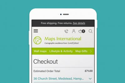 Maps International - Retail Site